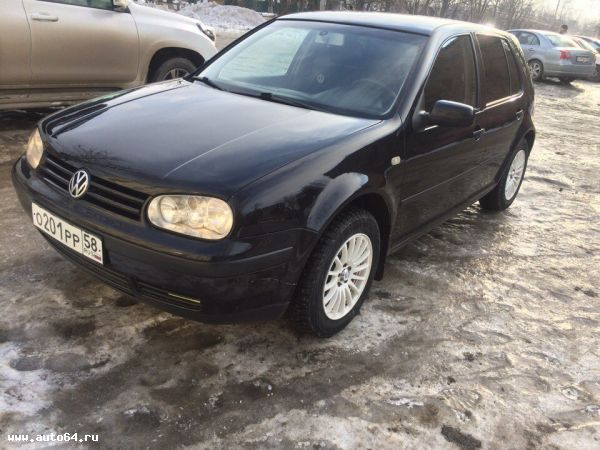 Volkswagen Golf 4 1999 Саратов Фотография 1